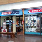 Oficina de Viajes Eroski de Centro Comercial Iruña en Pamplona