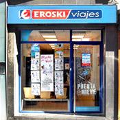 Oficina de Viajes Eroski de Plaza Cruz Verde en Valladolid