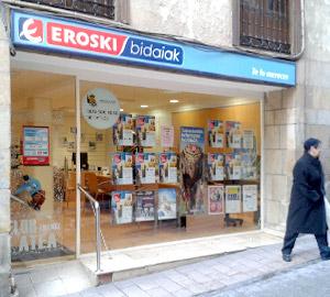 Oficina de Viajes Eroski de Ordizia