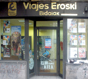 Oficina de Viajes Eroski de Hernani