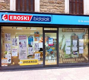 Oficina de Viajes Eroski de Zarautz en Zarauz
