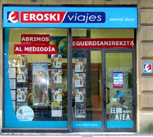 Oficina de Viajes Eroski de San Martin en Donostia-San Sebastian
