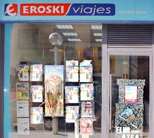 Oficina de Viajes Eroski de Gros en Donostia-San Sebastian