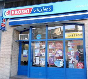 Oficina de Viajes Eroski de Pio XII en Vitoria-Gasteiz