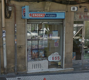 Oficina de Viajes Eroski de Eguía en Donostia-San Sebastian