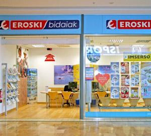 Oficina de Viajes Eroski de Centro Comercial Ballonti en Portugalete