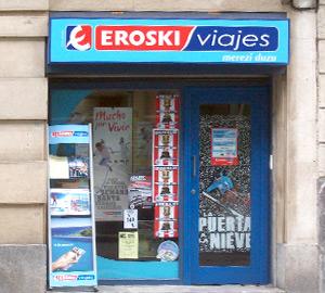 Oficina de Viajes Eroski de Licenciado Poza en Bilbao