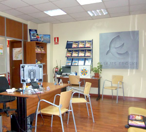 Oficina de Viajes Eroski de Burlada