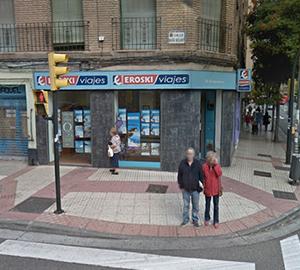 Oficina de Viajes Eroski de Avenida San Jose en Zaragoza