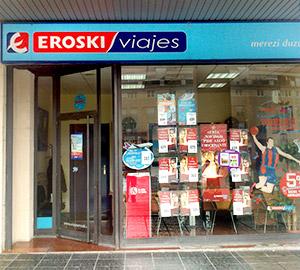 Oficina de Viajes Eroski de Lakua en Vitoria-Gasteiz