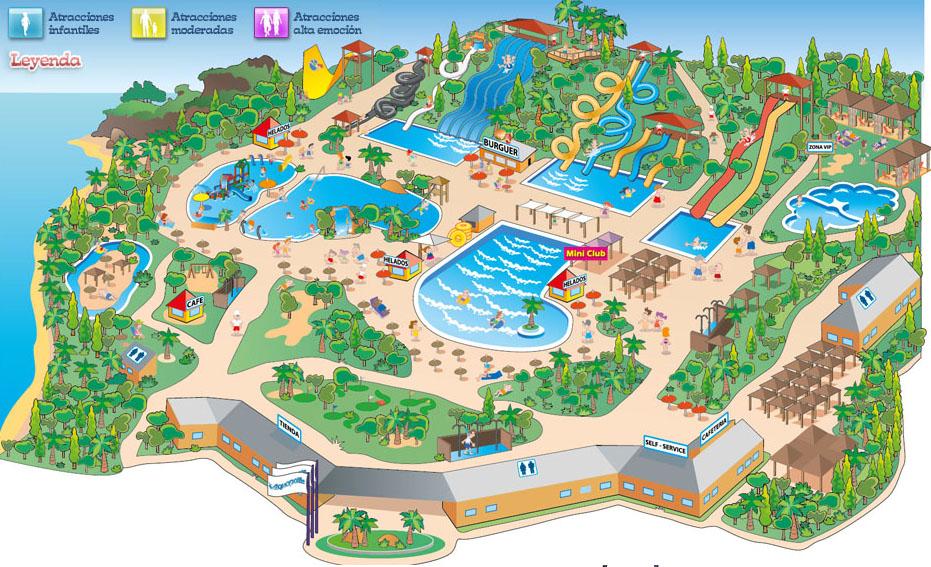 Entradas parque acuatico aquopolis torrevieja alicante - Parque acuatico menorca ...