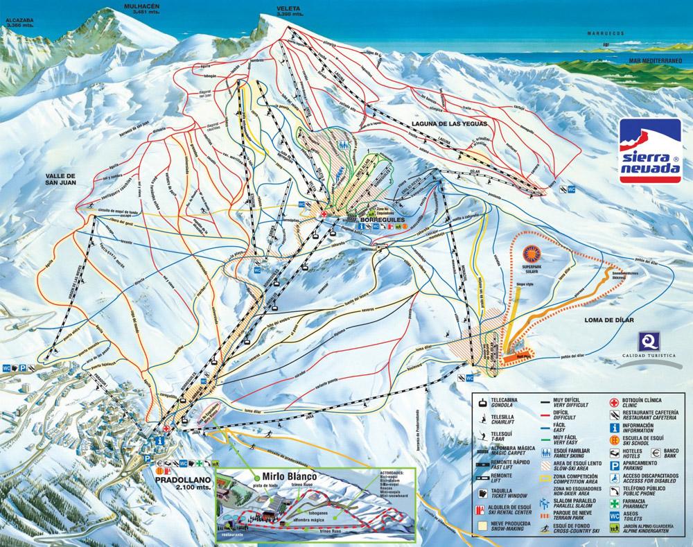 Esqui en sierra nevada ofertas de hotel forfait en sierra nevada - Apartamentos baratos en sierra nevada ...
